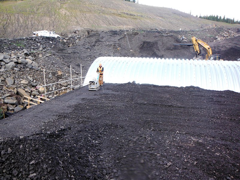 Peace River Coal – Arch Culvert Project PRC Arch Culvert 2 555x416