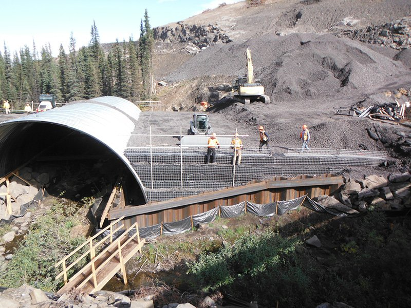 Peace River Coal – Arch Culvert Project PRC Arch Culvert 3 555x416