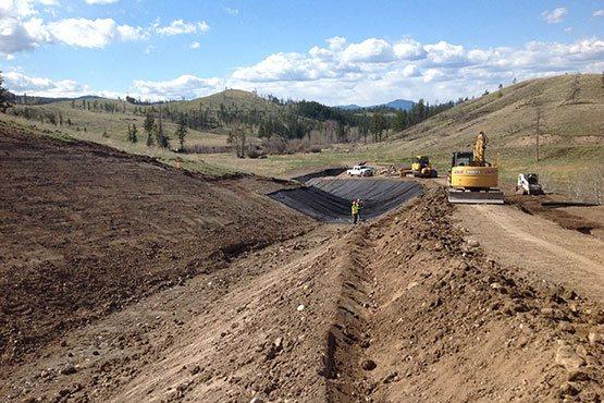 Ajax Project LNB Construction  KGHM Ajax Mine – Alkali Creek Diversion Ajax Project LNB Construction 555x370