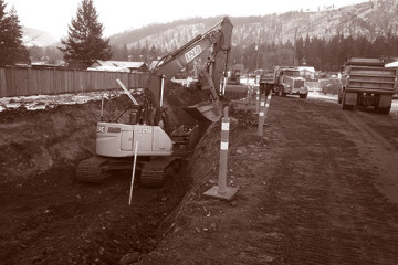 District of- Barriere LNB Construction Duotone  Civil Construction & Earthworks Projects District of Barriere LNB Construction Duotone 360x240