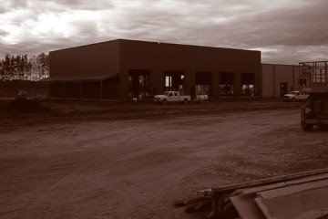 Westpro Strongco Facility LNB Construction Duotone  Civil Construction & Earthworks Projects Westpro Strongco Facility LNB Construction Duotone 360x240