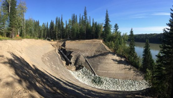 Fraser River Benchlands Channel Remediation project img 1 555x314