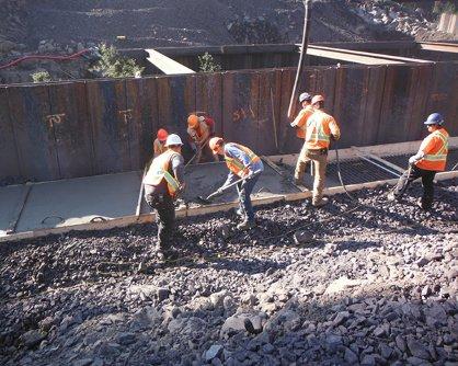 Supplies & Maintenance concrete