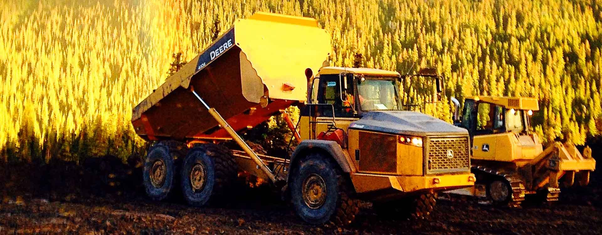 infracon Infracon infracon construction dump truck slider