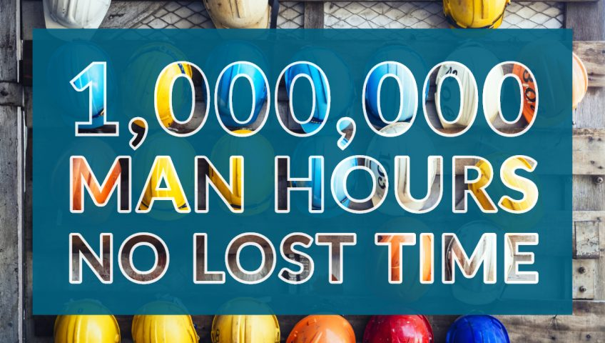 infracon accident free safety 1 million hours infracon safety Infracon has reached 1 million-man hours without a lost time accident My Post 5 848x480